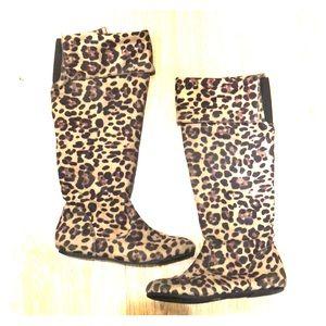 Shoes - Cheetah Boots